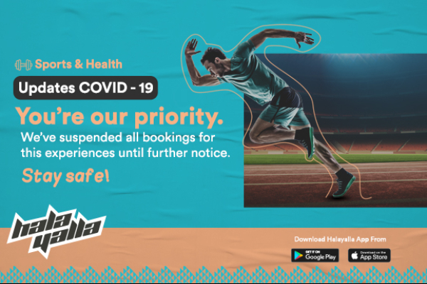 Updates COVID-19 - Sports and Health